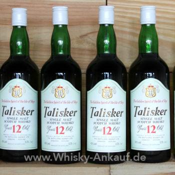 Talisker 12 Years Old TD Logo | Whisky Ankauf