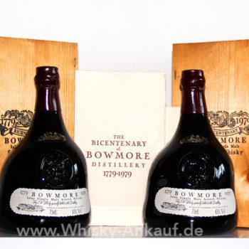 Bowmore Bicentenary 1779 1979 | Whisky Ankauf