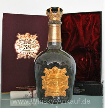Royal Salute 38 Years Old Stone of Destiny | Whisky Ankauf
