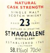 St Magdalene | Whisky Ankauf