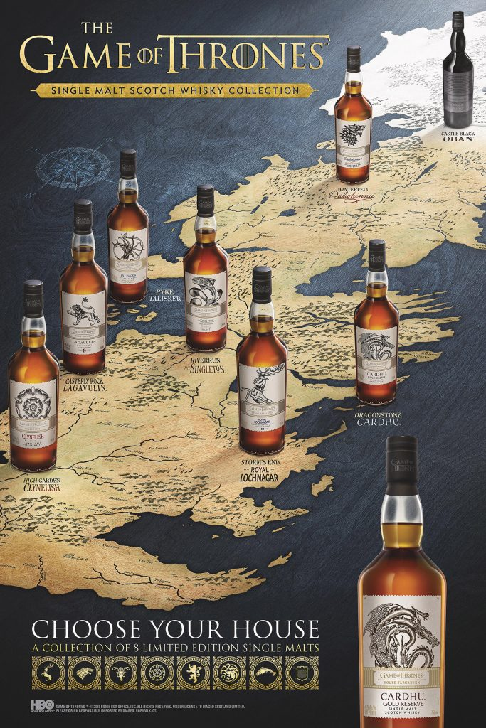 Westeros Game of Thrones Whisky