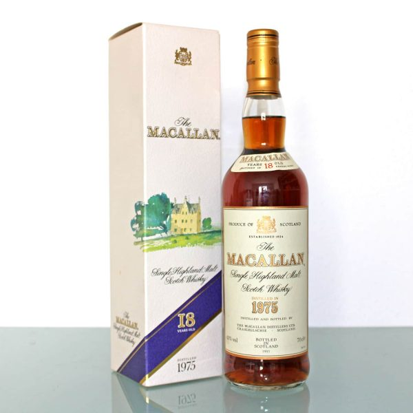 Macallan Whisky 1975 18 years old