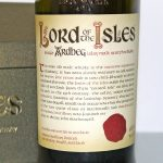 Ardbeg Lord of the Isles front label