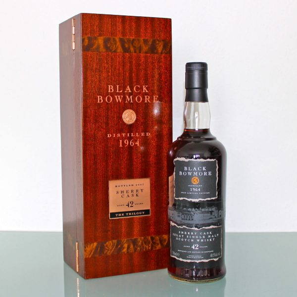 Black Bowmore 1964 42 Years Old