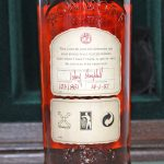 Bowmore 1957 38 Years Old back label