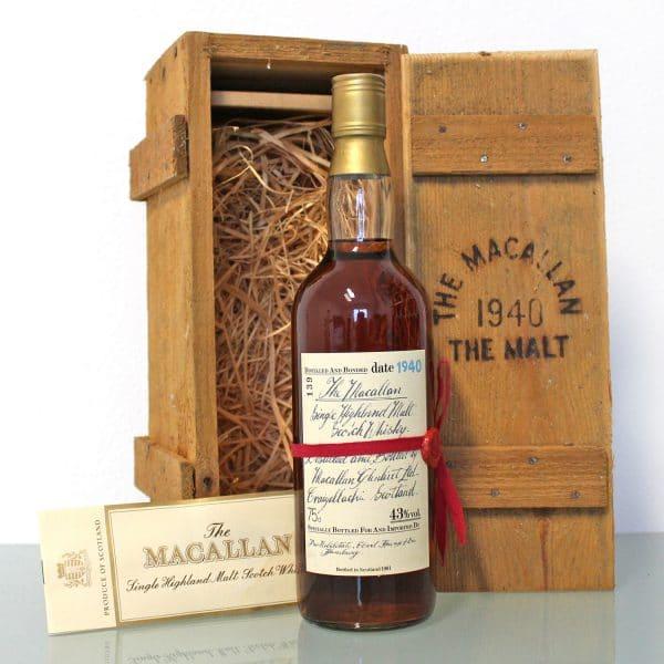 Macallan 1940 Red Ribbon