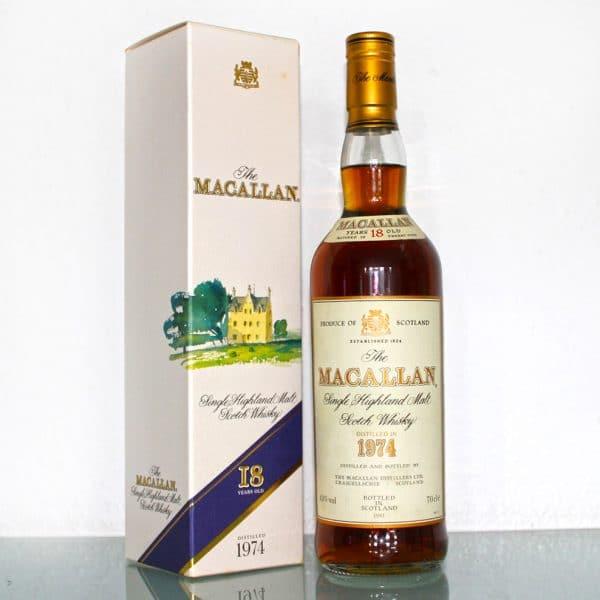 Macallan 1974 18 Years Old