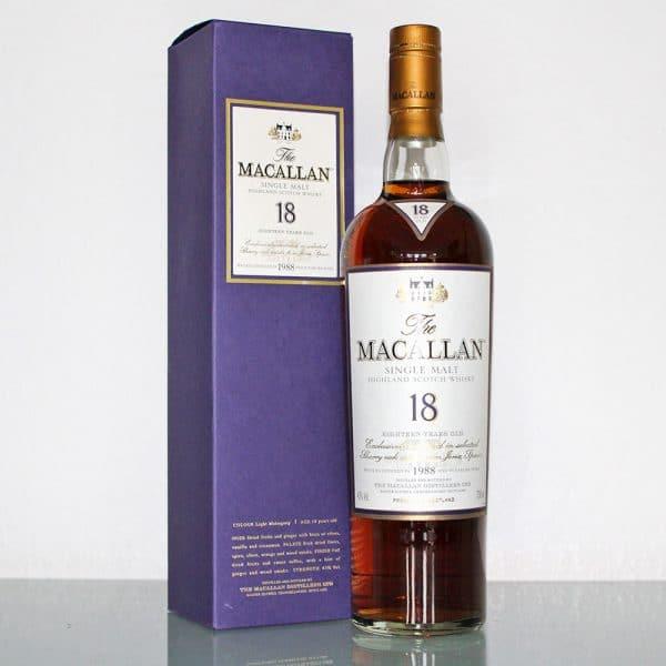Macallan 1988 18 Years Old