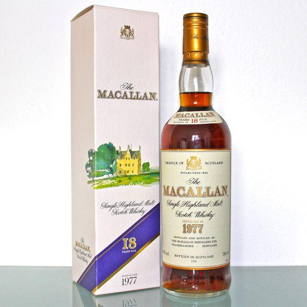 Macallan 1977 18 Years Old
