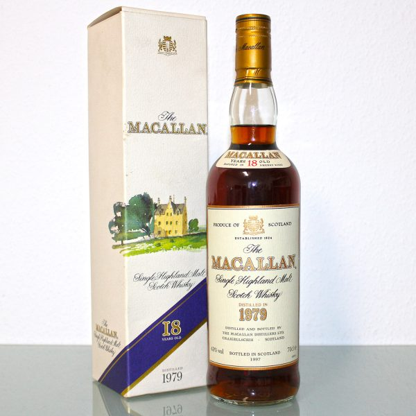 Macallan 1979 18 Years Old