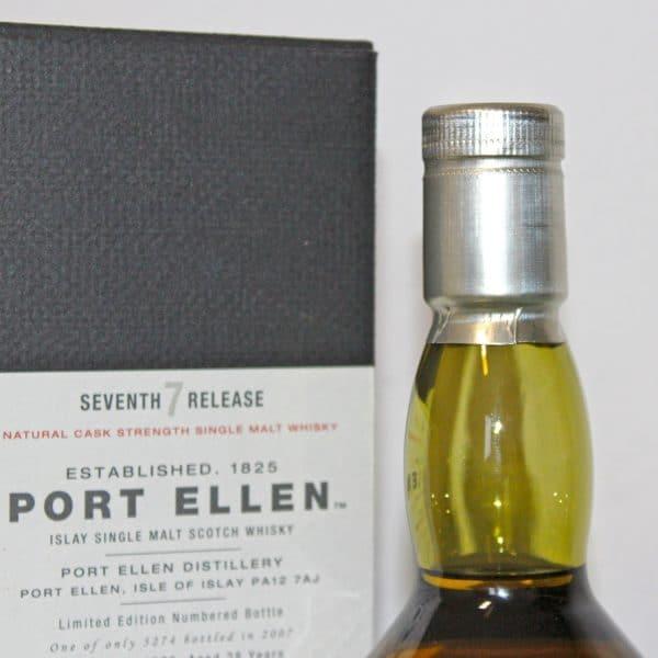 Port Ellen 1979 28 Years Old 7th release capsule