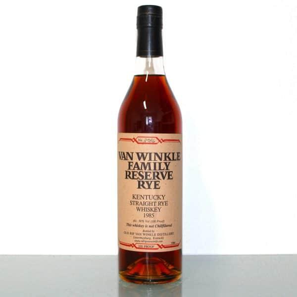Van Winkle Family Reserve Rye 1985