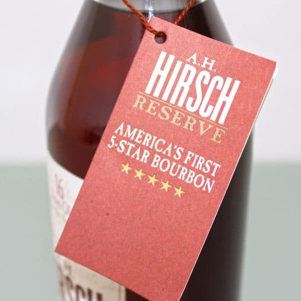 A.H. Hirsch Reserve 1974 16 Years Old tag 1