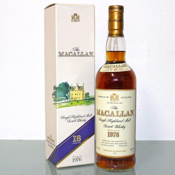 Macallan 1976 18 Years Old