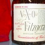 Very Xtra Old Fitzgerald 1956 10 Years Old label