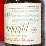 Very Xtra Old Fitzgerald 1956 10 Years Old label 2