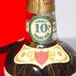Very Xtra Old Fitzgerald 1956 10 Years Old label top
